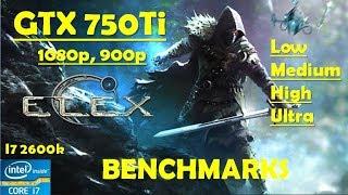 Elex GTX 750Ti - 1080p - High - Medium- Low - 900p - i7 2600k - Performance Benchmarks