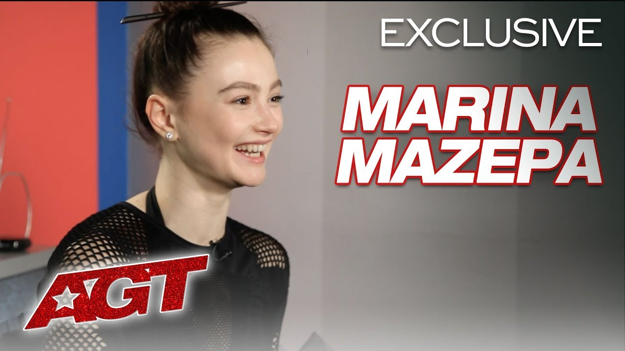 Marina Mazepa Relives Her Eerie Contorting Dance Performance! - America's Got Talent 2019 thumbnail