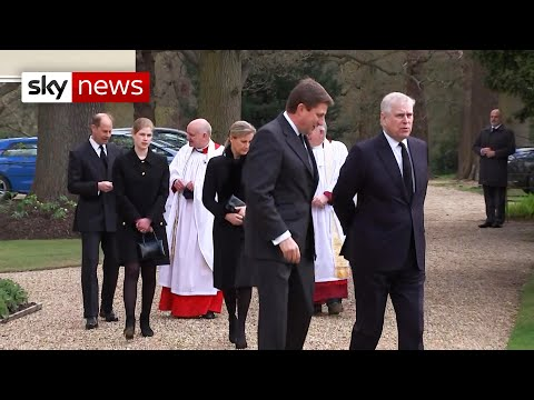 Royals share memories of Prince Philip