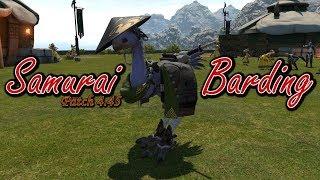 FFXIV: Samurai Barding