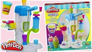 Play Doh • Idealnie zakręcone lody • A2104 • Automagiczna lodziarnia Play Doh