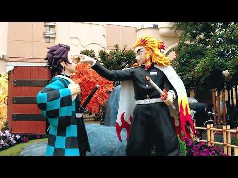 日本環球影城的鬼滅之任的特別主題區!