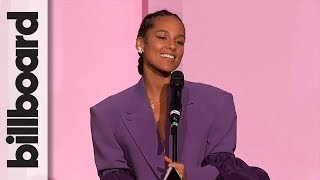 Alicia Keys Accepts The American Express Impact Award   Women In Music