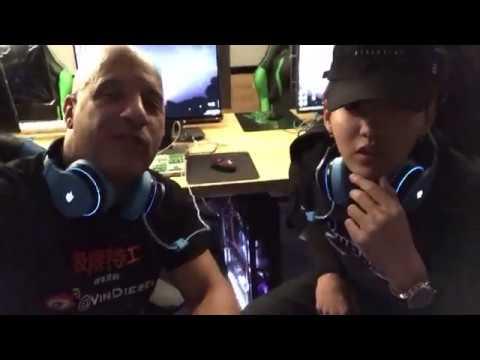 Kris Wu and Vin Diesel playing World of Warcraft [Vin Diesel FB update]