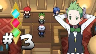 Let's Play Pokemon: Black - Part 3 - Striaton Gym Leader Cilan