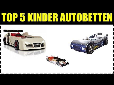 TOP 5 KINDER AUTOBETTEN ★ Autobett für Kinder ★ Autobett mit Licht ★ Kinderbett Auto ★ Autobett V8..