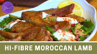 HI-FIBRE MOROCCAN LAMB RECIPE ✨ EAT WELL #33