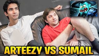 Arteezy vs Sumail Storm Spirit: This is Dota WTF!