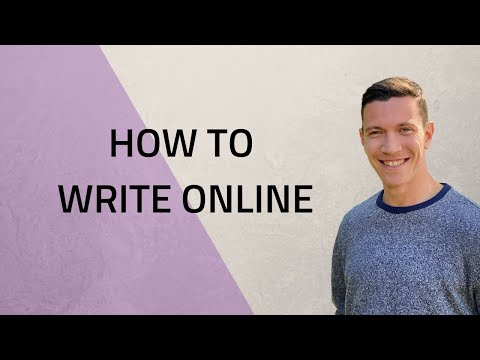 How to Write Online with David Perell