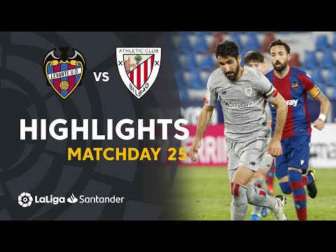 Highlights I Levante UD 1-1 Athletic Club (LaLiga Matchday 25)