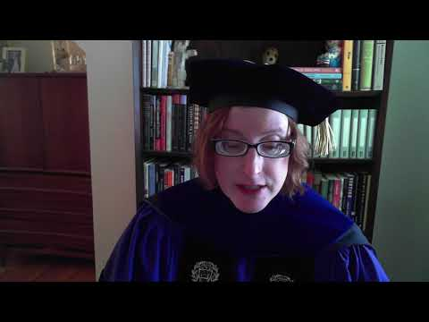 Virtual Commencement 2020, Opening Remarks from Dr. Celia Marshik