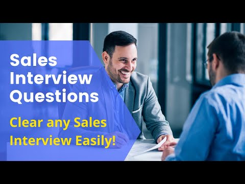 , title : 'Sales interview questions   Interview for sales   Clear Sales Interviews easily