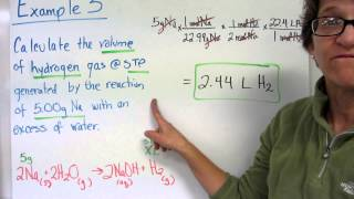 Gas Stoichiometry For Gases At STP