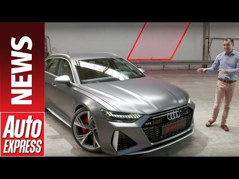 New 2020 Audi RS 6 Avant - 592bhp super-estate breaks cover