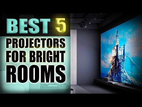 Best Projectors for Bright rooms - (The best 5 in 2021)