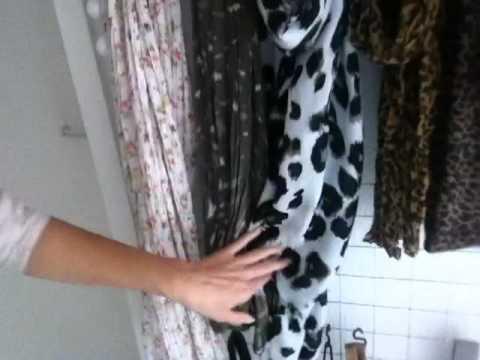 Wandgarderobe für Highheels, Schmuck, Schals und Taschen- günstig selbstgemacht