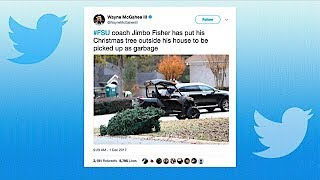 New Texas A&M Coach Jimbo Fisher Explains the Christmas Tree on the Curb | The Dan Patrick Show