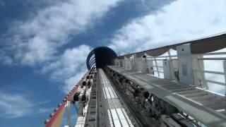 California Screamin' Roller Coaster Front Seat POV Disneyland Disney California Adventure 1080p HD