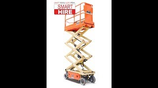 How to operate a standard electric scissor lift