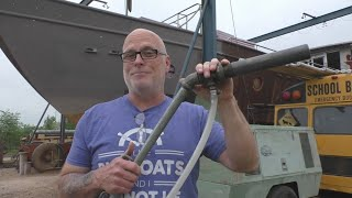 Painting the Boat - Part 2 - Solving Compressor Problems