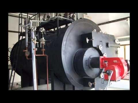 Oil & Gas Fired 1-10 TPH Steam Boiler IBR Approved