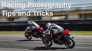 Racing photography tips