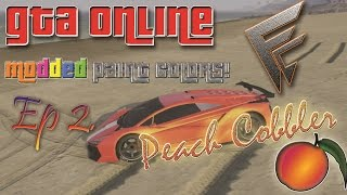 preview picture of video 'GTA ONLINE :  PEACH COBBLER Modded Paint Jobs!'