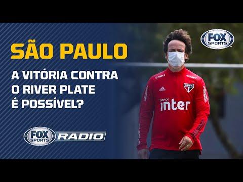 SÃO PAULO: A VITÓRIA CONTRA O RIVER PLATE É POSSÍVEL? Comentaristas analisam a possibilidade