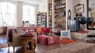Interior Design — Tour An Eclectic SoHo Loft Filled With Personality