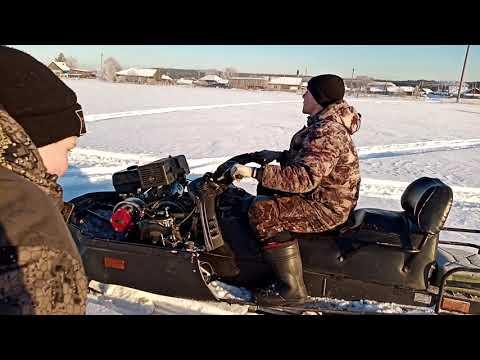 Снегоход тайга с двигателем 17 лошадиных сил или как уменьшить расход топлива на снегоходе