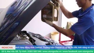 Thay lọc và dầu động cơ xe BMW