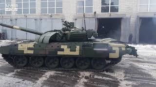 ВСУ получили модернизированные танки Т-72