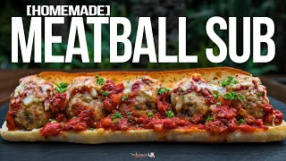 The Best Meatball Sub Recipe   SAM THE COOKING GUY 4K