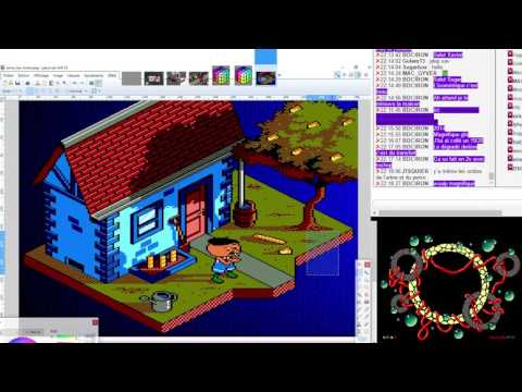 Amstrad CPC Graphics Live – Ep09