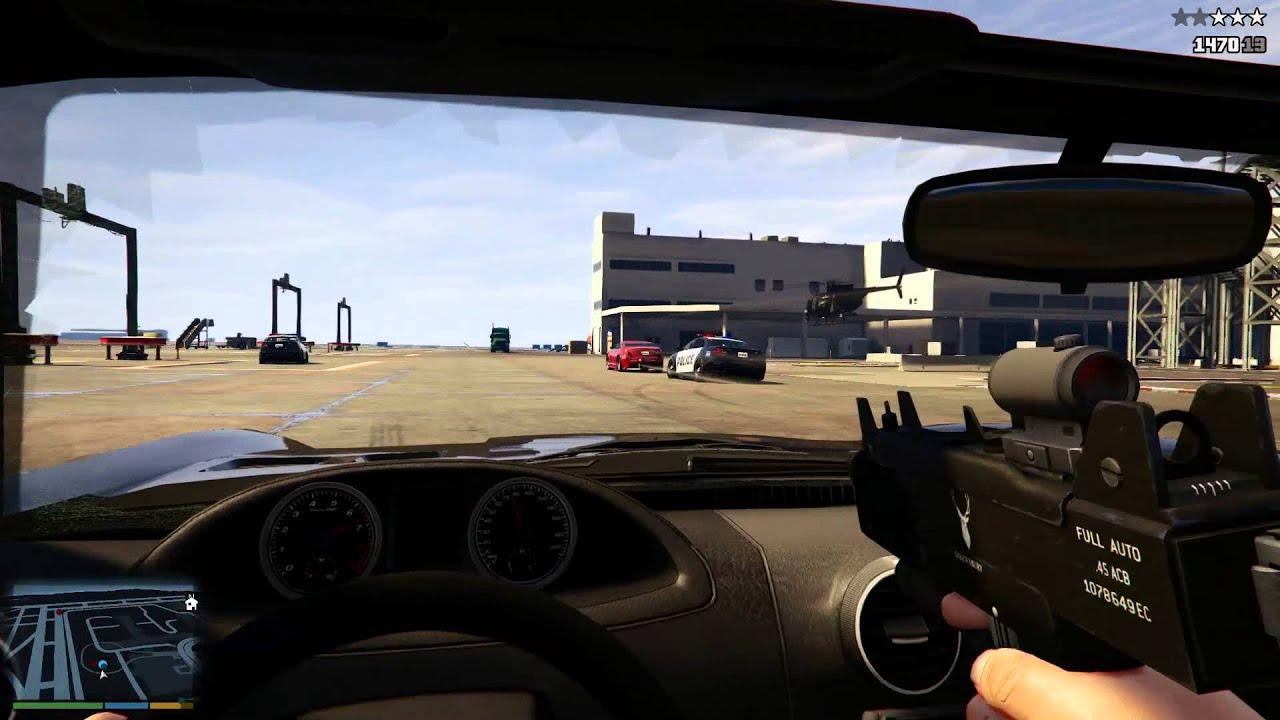 Grand Theft Auto V para PlayStation 4 nos muestra el nuevo modo primera persona y su increíbles mejoras técnicas