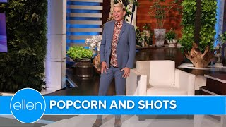 Popcorn and Shots in the Audience Olympics