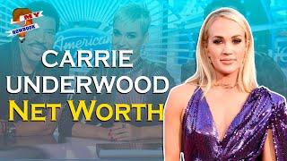 What is American Idol winner Carrie Underwood net worth?