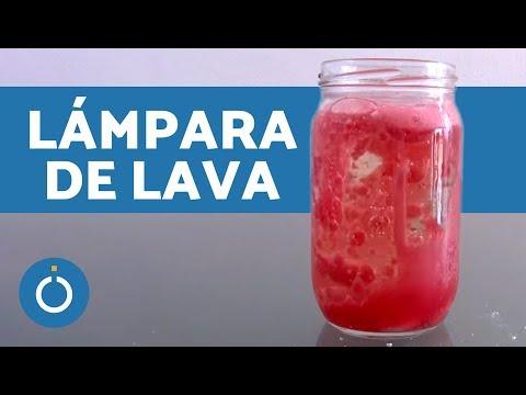 Lámpara de lava casera - Manualidades fáciles