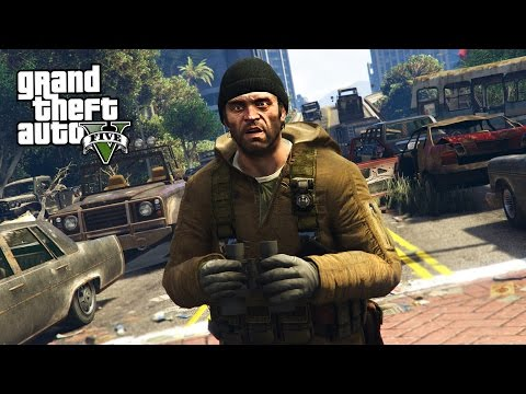 GTA 5 Zombie Apocalypse Mod #1 - BEGINNING OF THE END!! (GTA 5 Mods)