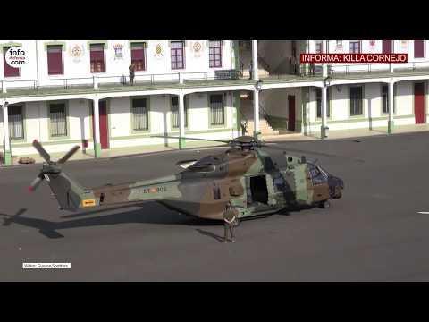 El helicóptero NH90 número doce llega al Ejército de Tierra