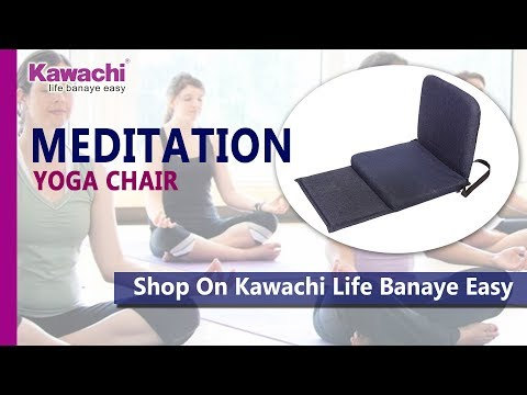 Kawachi Meditation and Yoga Floor Chair with back support