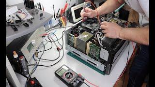 Harman Kardon AVR-255 Reparatur + Zusatzlüfter + Einbau Bluetooth Modul - Teil 1