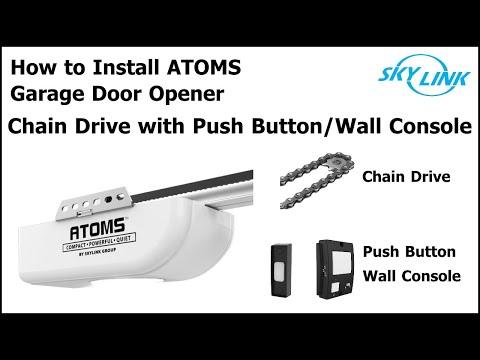 Atoms Chain Garage Door Opener Installation