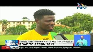 Surprise as KPL top scorer Wanga is axed from AFCON squad