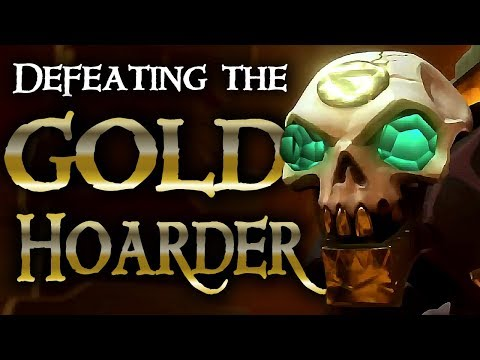 SHORES OF GOLD // SEA OF THIEVES - Killing the Gold Hoarder