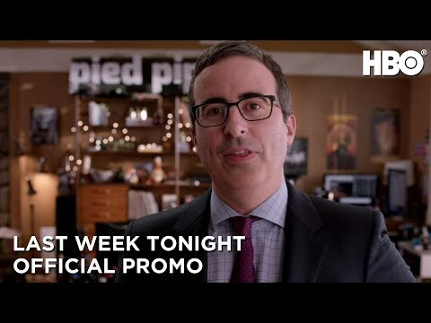 Last Week Tonight with John Oliver Season 4 Promo 'Silicon Valley'