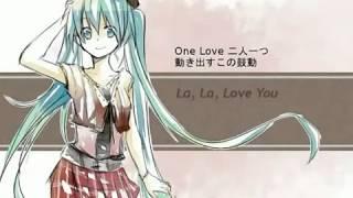 La, La, Love You by Hatsune Miku Romaji Lyrics