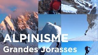Le Linceul Face Nord des Grandes Jorasses Chamonix Mont-Blanc alpinisme - 7217