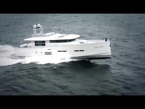 Delta 88 -- swedish carbon fibre luxury yacht