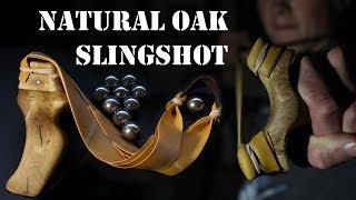 How To Carve A Natural Oak Slingshot
